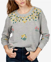 Lucky Brand Embroidered Sweatshirt