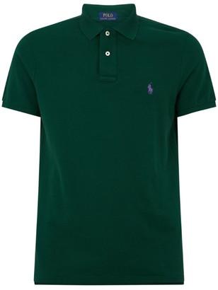 Ralph Lauren Custom Slim-Fit Mesh Polo Shirt
