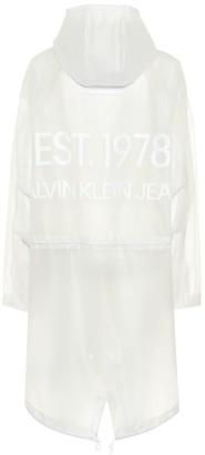 Calvin Klein Jeans Est. 1978 Transparent raincoat