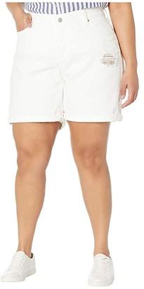 Levi's(r) Plus New Shorts (White Ice) Women's Shorts