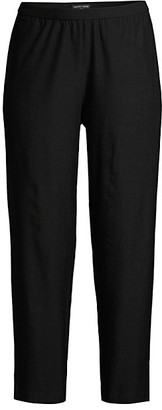 Eileen Fisher Crepe Cropped Pants