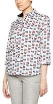 Eterna Women's D380 Loose Fit Long Sleeve Blouse,(Manufacturer Size: )