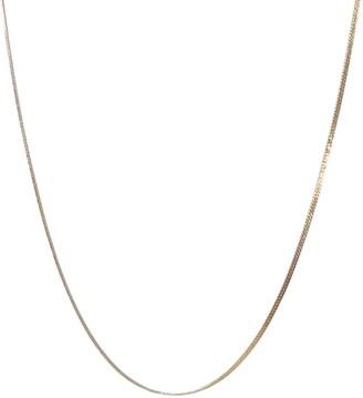 Clara Lifestyle Golden Honey Herringbone Chain