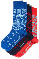 Psycho Bunny Socks 3-Pack Gift Set