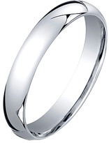 Golden Moon Women's Rings Silver - Sterling Silver 3-mm Comfort-Fit Band