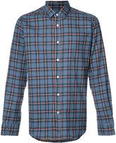 Saint Laurent checked shirt - men - Cotton - 42