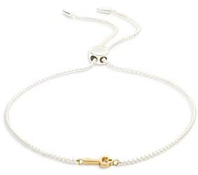Ralph Lauren Ralph Key Slider Bracelet in Two Tone Sterling Silver