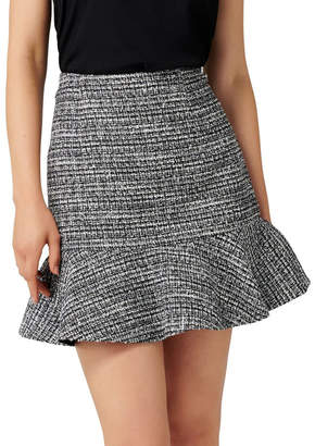 Forever New Kate Boucle Fit and Flare Skirt