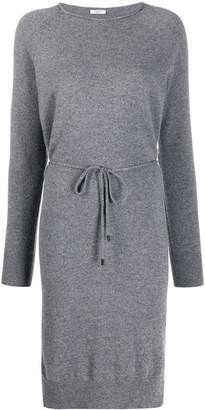 Peserico tie waist sweater dress