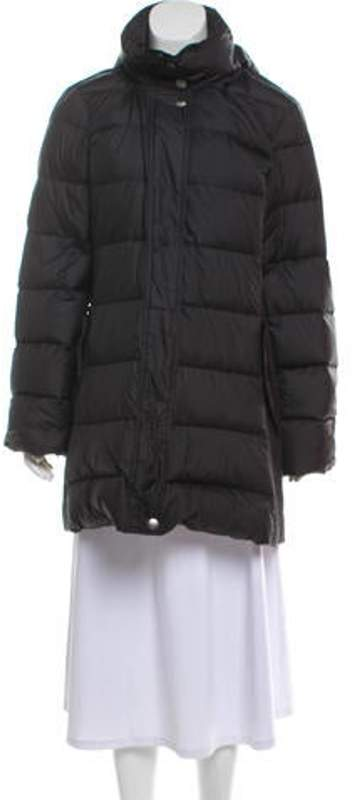 d49a2c8b9 Quilted Down Coat Black Quilted Down Coat
