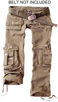 Juicy Trendz Womens Trousers Army Military Ladies Casual Cargo Pants