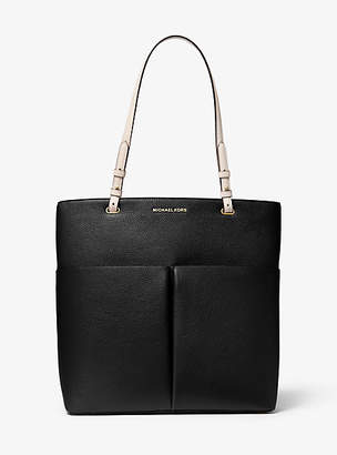 MICHAEL Michael Kors Bedford Large Pebbled Leather Pocket Tote Bag