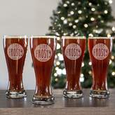 """Cathy's Concepts Cathys concepts 4-pc. """"Stay Frosty My Friend"""" Pilsner Glass Set"""