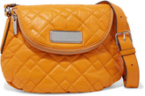 Marc by Marc Jacobs Natasha mini quilted textured-leather shoulder bag