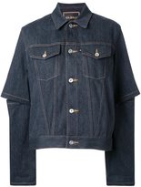 G.V.G.V. open elbow denim jacket