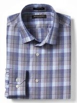 Banana Republic Camden-Fit Non-Iron Plaid Shirt