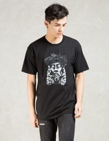 Black Scale Black Wooden Savior T-shirt