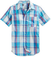 Lrg Men's RC One Plaid Short-Sleeve Shirt
