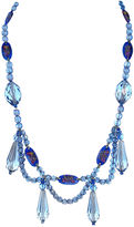One Kings Lane Vintage 1920s Faceted Glass Swag Necklace