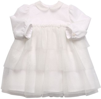 Il Gufo Stretch Tulle Dress