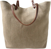 Independent Reign Woven Jute Tote Bag