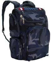 Lug Camo Navy American Flag Backpack