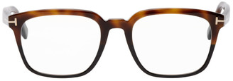Tom Ford Tortoiseshell Square Glasses