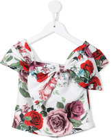 Little Bambah - Diana side bow top - kids - Soie - 11 ans