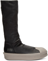Rick Owens Black adidas Edition Mastodon Stretch Boot High-Top Sneakers