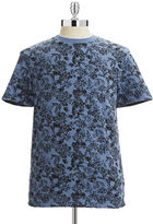 Hudson North Filigree Print T-Shirt