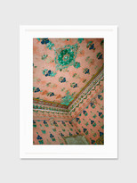 """For Your Guest Bathroom """"India Pink"""" Framed Print"""