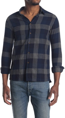 NATIVE YOUTH Clyde Check Print Shirt
