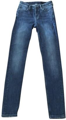 AllSaints Blue Cotton Jeans for Women