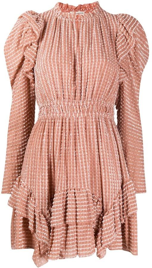 Ulla Johnson Leah ruffle-trimmed mini dress