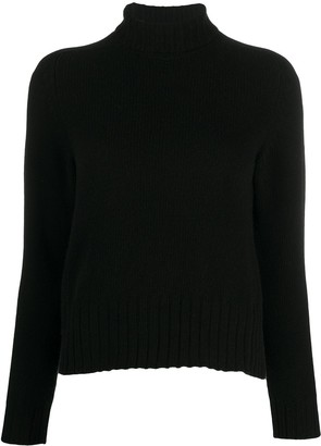 Avant Toi Plain Roll-Neck Jumper