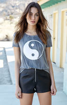 La Hearts Yin Yang Crew Neck T-Shirt