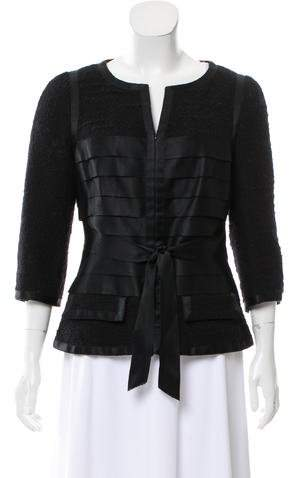 Chanel Tiered Tweed Jacket