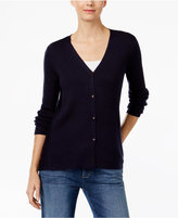 Eileen Fisher Merino Wool Ribbed Cardigan, A Macy's Exclusive