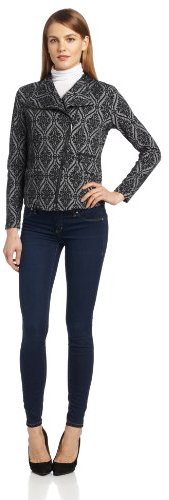 Chaus Women's Long-Sleeve Open-Front Baroque Jacket