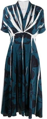 Paul Smith V-neck chiffon dress