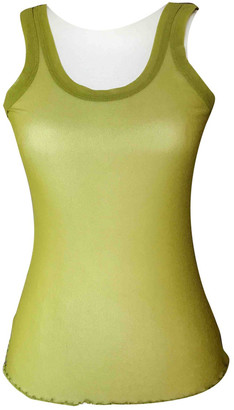 Jean Paul Gaultier Green Polyester Tops