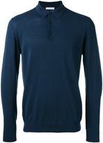 Boglioli longsleeved polo shirt - men - Cotton - S