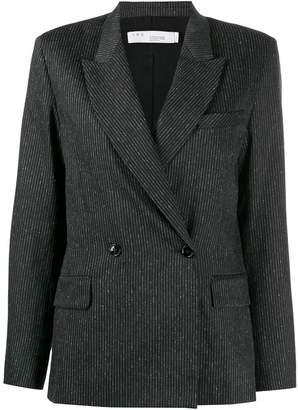 IRO double-breasted peaked lapels blazer