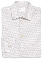 Paul Smith Soho-Print Bicycle-Print Dress Shirt