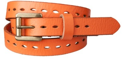 Mossimo Single Perforated Belt - Coral