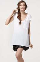 T by Alexander Wang Sleeveless Pocket Tee