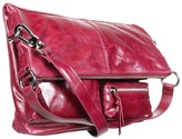 Hobo Explorer (Bordeaux Vintage Leather) - Bags and Luggage
