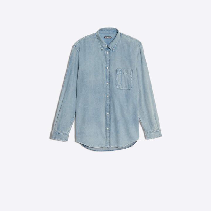 77c543997e72 Mens Print Longsleeve Shirt - ShopStyle
