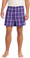 District Threads Young Mens Flannel Plaid Boxer, 4XL
