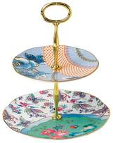 Wedgwood Butterfly Bloom 2-Tier Cake Stand
